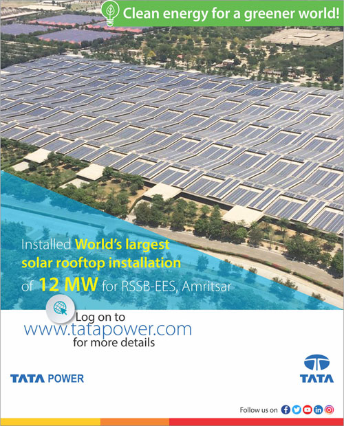 Tata Power Solar Solar Panel And Other Products Manufacturer In India