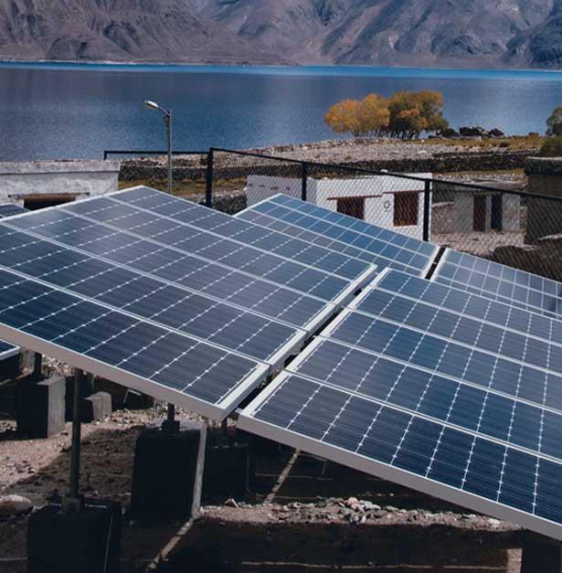 1 MW Solar Microgrids - Ladakh, India installed by Tata Power Solar