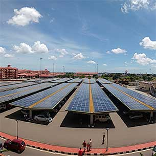 Largest Solar Carport in India