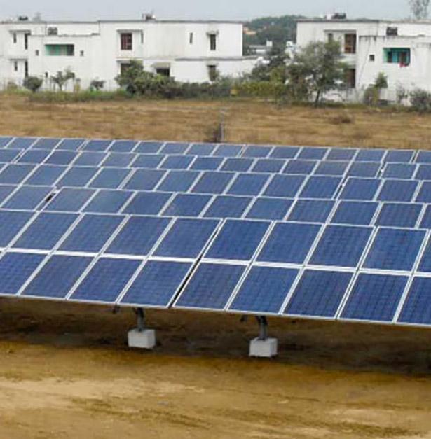 2.5 MW Solar Power Plant - Ultra Tech Cement by Tata Power Solar