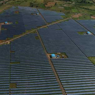 India's largest solar power project of 50 MW with NTPC