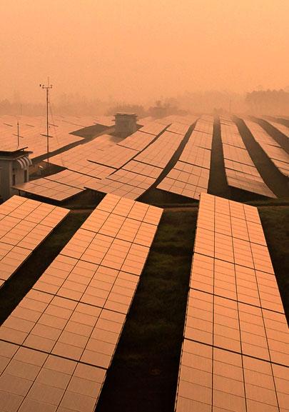 3 MW - Tata Power, Mulshi, Maharashtra's largest grid connected solar power plant by Tata Power Solar.