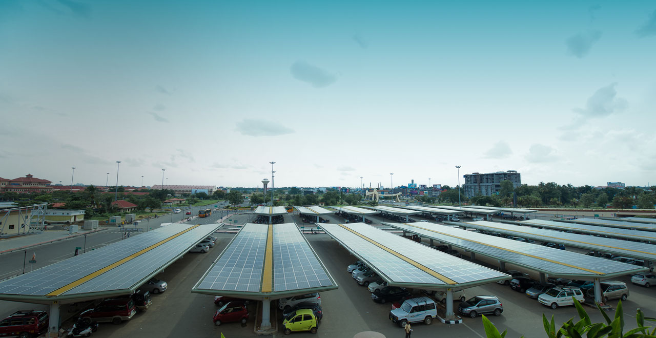 Cochin International Airport, India's Largest Solar Carport
